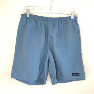 Patagonia Men's Baggies Long Swim Shorts Blue